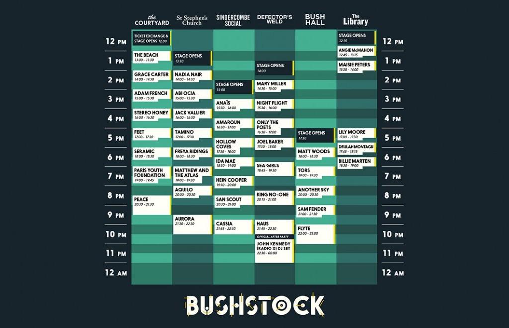 Go To This: Bushstock - TOMORROW