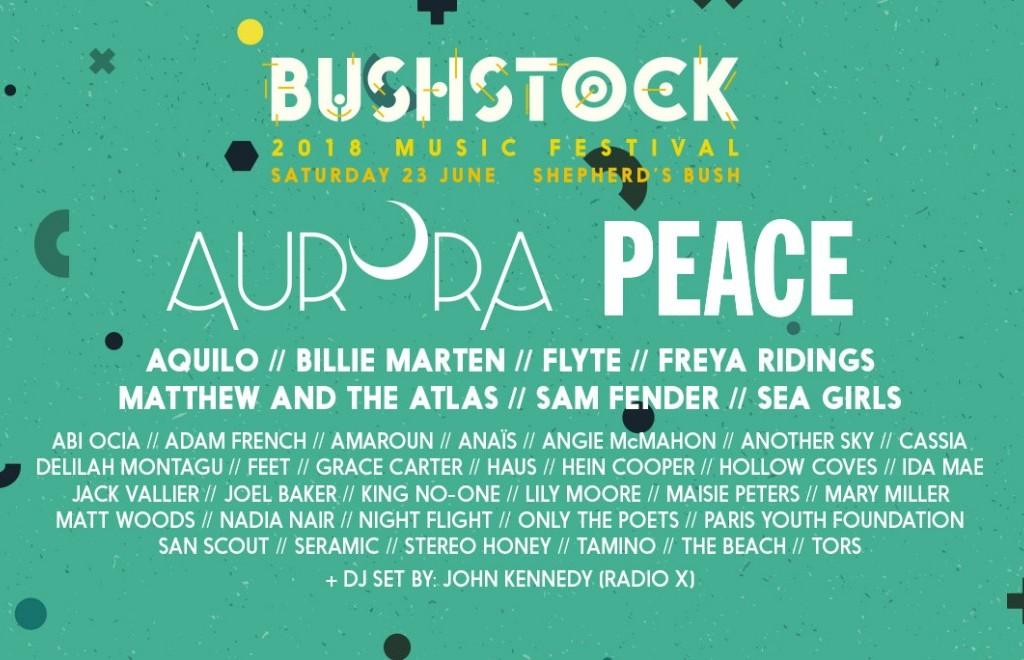 Bushstock - Final Announcement