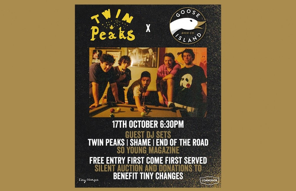 Tiny Changes Party with Goose Island hosted by Twin Peaks