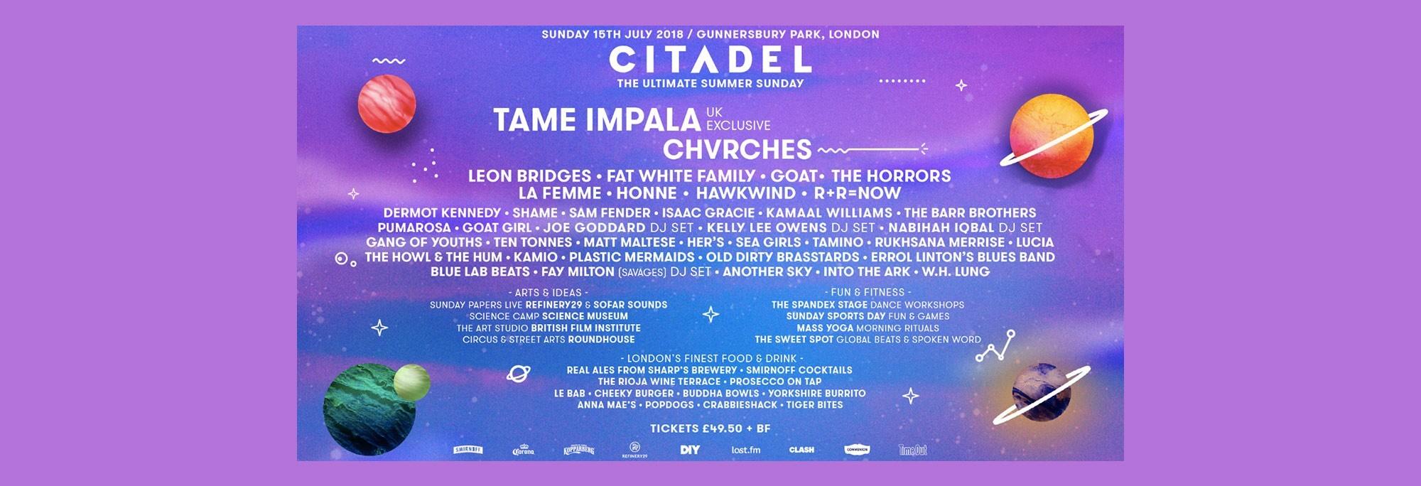 Citadel - Gunnersbury Park, London - 15th July