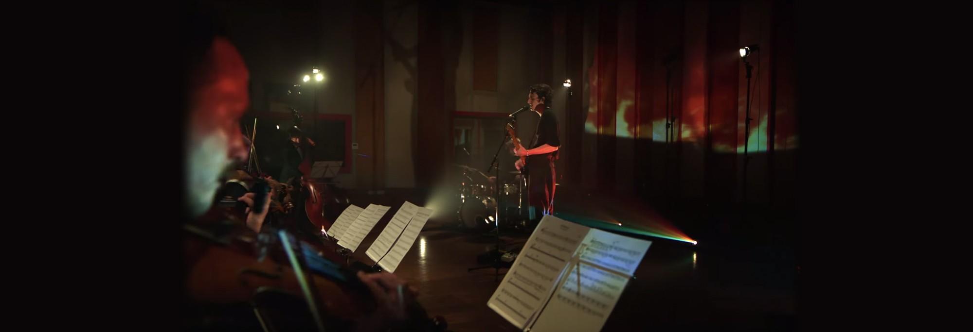 Tamino - Intervals (Live at Jet Studio ft. Nagham Zikrayat Orchestra)