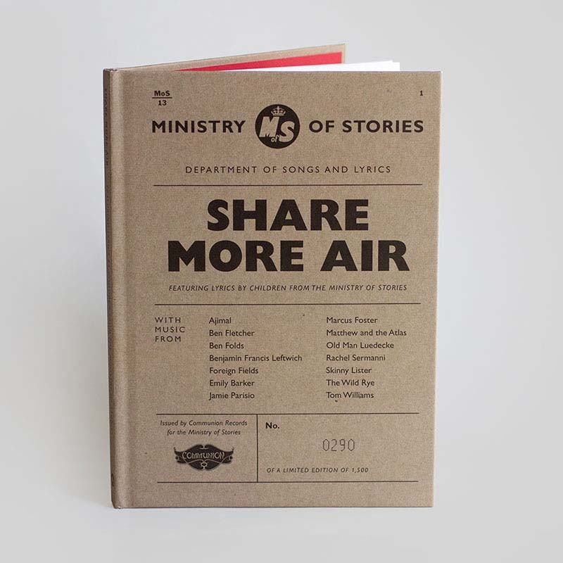 Ministry of Stories Release Artwork
