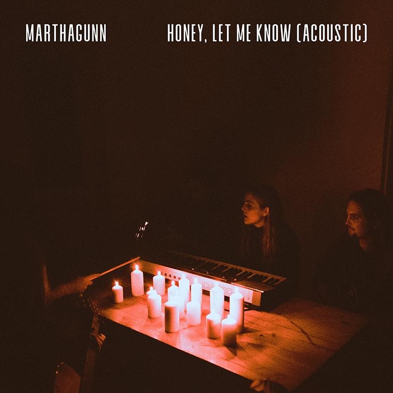 Honey, Let Me Know (Acoustic) Release Artwork
